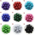 Cordial Design Choose Colors 100Pcs/Bag 20MM Fashion DIY Bead Chunky Rhinestone Ball Beads For Kids Necklaces <b>Jewelry</b> <b>Making</b>