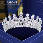 Luxury bride full zircon crown crown accessories bride <b>wedding</b> <b>jewelry</b> <b>wedding</b> dress accessories women hair accessories HA20173