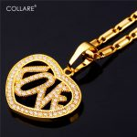 Collare Heart Love Full CZ Pendants Gold/Silver Color <b>Accessories</b> Wholesale Valentine Gift <b>Jewelry</b> Crystal Necklace Woman P143