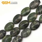Gem-inside 18x25mm Rose Quarz Tiger Eye Flat Oval Sardonyx Agates Beads For <b>Jewelry</b> <b>Making</b> Bracelet Necklace 15inch DIY Beads