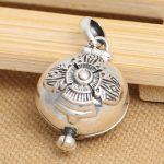 <b>Handmade</b> 925 silver tibetan gau box pendant sterling silver buddhist prayer box pendant gau pendant tibetan <b>jewelry</b> gift