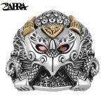 ZABRA Real 925 <b>Sterling</b> <b>Silver</b> Rings Animal Owl Cubic Zirconia Eye Golden Copper Adjustable Ring For Men Vintage Punk <b>Jewelry</b>