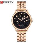 Curren NEW Fashion Quartz Watch Women Luxury Brand Gold <b>Silver</b> Stainless steel Ladies <b>Bracelet</b> relogio feminino