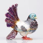 Peace Dove <b>jewelry</b> box gift box Peace Bird Girls Gift Box Packaging Organizer Earring Holder