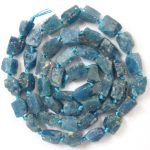 Free Shipping!!! 1 strand(Approx:47Pcs)Natural Raw stone Ocean Kyanite Loose Bead 15.5 inch M155 For <b>Jewelry</b> <b>Making</b>