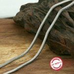 S925 sterling silver necklace personality fashion classic <b>jewelry</b> <b>handmade</b> snake bone pattern lovers model 2018 new gift to send