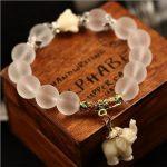 100Pcs SEDmart Crystal Elephant Charm Bracelet For Women Antique <b>Silver</b> Buddha Head Animal Bead Cultural Bracelet <b>Jewelry</b>