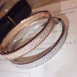 Top quality Brand Pure 925 Sterling Silver <b>Jewelry</b> For Women Full Stone Bangle Rose Gold Beads Bangle <b>Wedding</b> <b>Jewelry</b>
