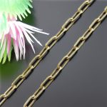 3mm Slim 1m A Lot <b>Antique</b> Bronze Plated Vintage Retro Style <b>Jewelry</b> Making Chain For Men Alloy Rope Chains Necklace Wholesale