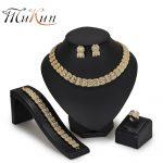MUKUN African beads <b>jewelry</b> set Nigeria Dubai Gold <b>Jewelry</b> Sets For Women Wedding party Jewellery Set Bridal Costume Jewelery