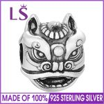 LS 2017 Winter Style Authentic 925 Sterling Silver Chinese Dragon Charm Bead Fit Original Charms Bracelets For <b>Jewelry</b> <b>Making</b>