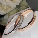 Brand Pure 925 Sterling Silver bracelet For Women Rose Gold Full Stone Bangle Slide Move Stone Bangle <b>Wedding</b> france <b>Jewelry</b>