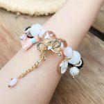 2018 Beads for <b>jewelry</b> <b>making</b> women Bohemian Bangle Bracelet Small fresh bohemian bow tasse lMulti-element beaded bracelet