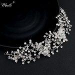 Miallo 2018 Classic Wedding Hair Accessories <b>Handmade</b> Headbands Crystal Bridal Hair <b>Jewelry</b> Vine Women Hairpieces Tiaras