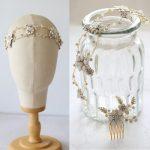 Dower me Porcelain Flowers Wedding Tiara Headband Baroque Bridal Headpiece Hair Crown Accessories Women <b>Jewelry</b>