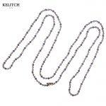 KELITCH <b>Jewelry</b> 1Pcs Bohemian <b>Handmade</b> Chain Link Beaded Necklace For Women Gifts Custom Card Package Free Wholesale AMN-0322