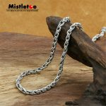 Authentic 100% 925 <b>Sterling</b> <b>Silver</b> Classic Vintage 4mm Rope Necklace Chain <b>Jewelry</b> For Women Or Men