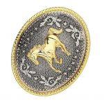 <b>Native</b> <b>American</b> Western Rodeo Oval Belt Buckle Horse Animal Embossed Mens Fashion <b>Jewelry</b>