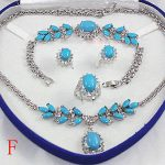 Lovely wholesale choker <b>jewelry</b> sets for women anime set necklace bracelet earrings ring AAA Plated gold Bridal wide watch