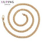 11.11 Deals Xuping Luxury <b>Fashion</b> Necklace Charm Style Long Necklace Chain Women Men Father's Day <b>Jewelry</b> Gift S91-44801