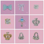 9 designs 50pcs mixed batch Nail art costume <b>jewellery</b> <b>decoration</b> 3d Rhinestone studs Faux Crystal tips nails DIY serials