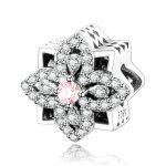 2018 New <b>Jewelry</b> Fit Original Pandora Charm Bracelet Really 925 Sterling Silver Charm Beads Beautiful Flower DIY <b>Making</b> Berloque