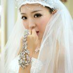 2016 luxury vintage crystal flower bridal hand chain wedding <b>jewelry</b> bridal bracelet wedding <b>accessories</b> Iraqis hand <b>jewelry</b>