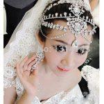Romantic Time-limited Para Cabelo Tiaras Bridal Hair Accessories Wedding Tiara Luxury Crown Tassel <b>Jewelry</b> Brazilian Ts023