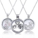 2016 Europe Popular <b>Jewelry</b> Love Petite Memories Locket Pendant Necklace 925 <b>Sterling</b> <b>Silver</b> Floating Locket Pendant For Women