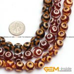 10mm Round Dzi Beads Tibet agat Strand 15″ Natural agat Stone Beads Loose Beads For <b>Jewelry</b> <b>Making</b> Free Shipping !