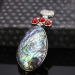 41*60mm Prevalent Accessories Series Natural seashells sea shells Ethnic Chic pendant necklace <b>jewelry</b> <b>making</b> design gifts