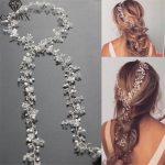 CC <b>Jewelry</b> Wedding Headband Head Crowns Flower Party Wedding Hair Accessories For Women Bridal Crown Bride Tiara Romantic 0403