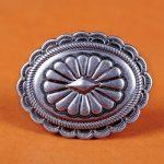 6X Heavy-Duty Vintage Silver Navajo <b>Native</b> <b>American</b> Belt Leather Craft Conchos