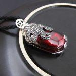 925 <b>Silver</b> Pixiu Pendant Coin Red Cubic Zircon Stone 100% Pure S925 Solid Thai <b>Silver</b> Pendants for Women <b>Jewelry</b> Making