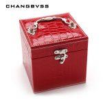 <b>Fashion</b> <b>Jewelry</b> Box Casket For <b>Jewelry</b> Travel Case Wedding Birthday Gift Ring Earrings Necklace <b>Jewelry</b> Storage Box Container
