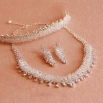 3 PCS Silver bridal <b>jewelry</b> sets crystal bridal hair combs <b>wedding</b> necklaces earrings bridal headpiece <b>wedding</b> <b>jewelry</b> set
