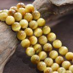 Wholesale 5A Natural Stone Beads Yellow Tiger Eye Globose Loose Beads For <b>Jewelry</b> <b>Making</b> 15.5″ Pick Size 4/6/8/10/12/14 mm