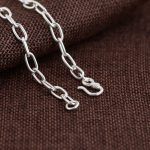 925 Silver Link Chain Necklace for Women Accessorice Width 5mm 50cm to 80cm S925 Solid Silver <b>Jewelry</b> <b>Making</b> Necklaces wholesale