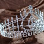 Charming Water Drop Tiaras Wedding Bridal Crown Headband Clear Crystal Prom Beauty Pageant Party Costumes Hair <b>Jewelry</b>