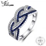 Jewelrypalace Infinity 0.2ct Created Blue Spinel Pave Ring 925 Sterling <b>Silver</b> Fashion <b>Jewelry</b> Gifts For Women Fashion <b>Jewelry</b>