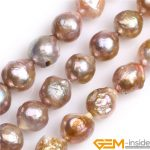 Near Round Big Large Natural Nuclear Edison Pearls Beads DIY Loose Beads For <b>Jewelry</b> Making Strand 15 Inches Wholesale !