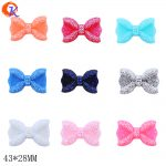 Fashion Handmade <b>Jewelry</b> 43x28MM 50Pcs/Lot Choose Colors Random Mix Resin Rhinestone Bows For <b>Jewelry</b> <b>Making</b> Necklace Bow