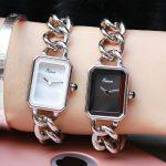 EIMA Top Luxury Women <b>Silver</b> Stainless Steel <b>Bracelet</b> Quartz Wristwatches Fashion Popular Lady Dress Watches Feminino Relojes