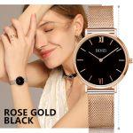 Women Watches BINZI Luxury Brand Quartz Watch Women Gold <b>Silver</b> Stainless Steel Watch Ladies Fashion Wristwatch Relogio Feminino