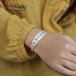 Artilady original <b>handmade</b> 925 sterling silver bracelets bangles luxury hollow out bracelets for party gift women <b>jewelry</b>