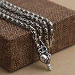 Wholesale S925 <b>Sterling</b> <b>Silver</b> <b>Jewelry</b> Retro Thai <b>Silver</b> Men Women Cross Sword Of Large Pendants Necklace Sweater Chain
