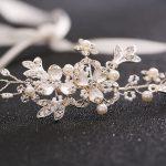 bride dress accessories plant <b>handmade</b> headband hair ornament bride headdress wedding hair <b>jewelry</b>