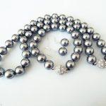Women's Wedding >>>>>RARE AAA+ 10mm Gray South Sea Shell Pearl Necklace Bracelet Earring Set real silver <b>jewelry</b> earrings