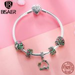 100% 925 <b>Sterling</b> <b>Silver</b> Bracelets Spring Bird Heart Flower Femme Bracelets & Bangles for Women Authentic <b>Silver</b> <b>Jewelry</b> ECB804