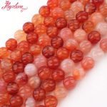 8,10mm Multicolor Round Bead Ball Carved Carnelian Agates Natural Stone Beads For DIY Necklace <b>Jewelry</b> <b>Making</b> 15″ Free Shipping
